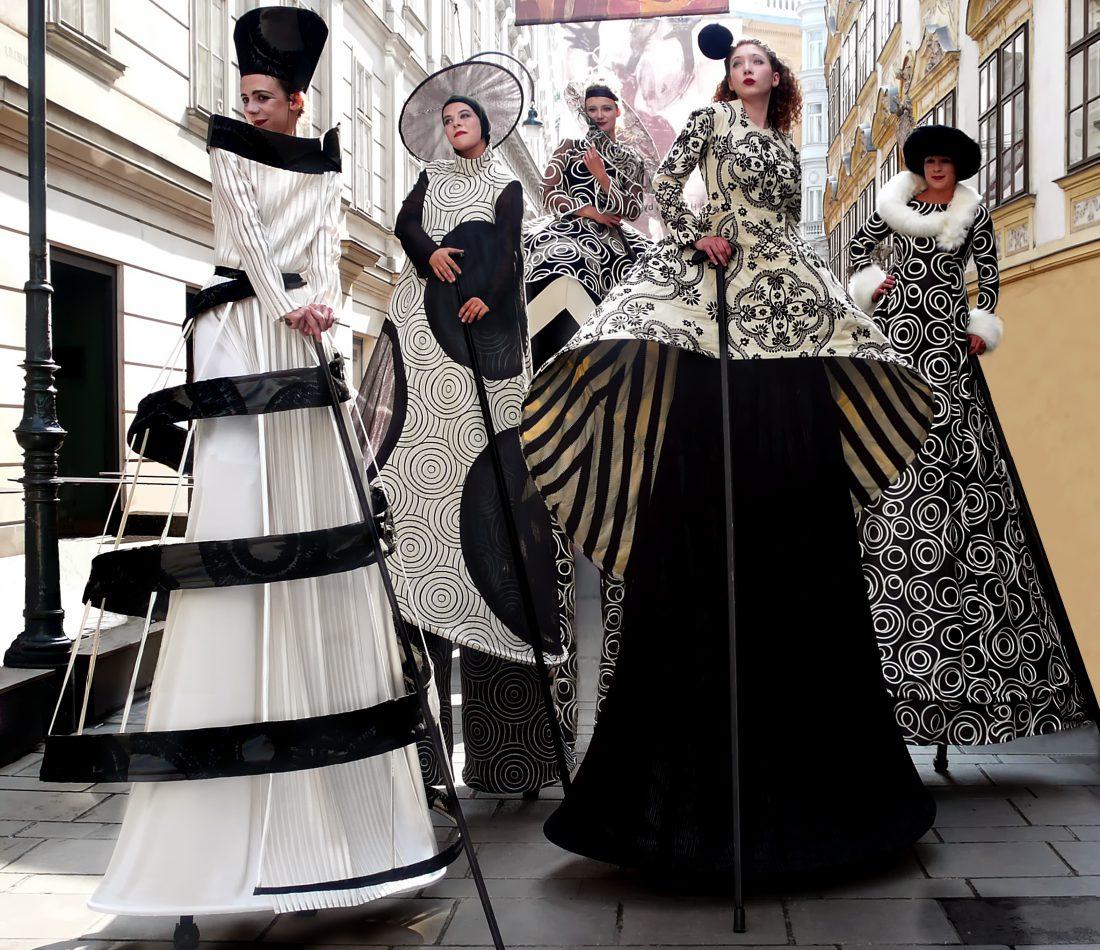 Premiere der Produktion «Haute Couture» auf dem Wiener Stadtfest.